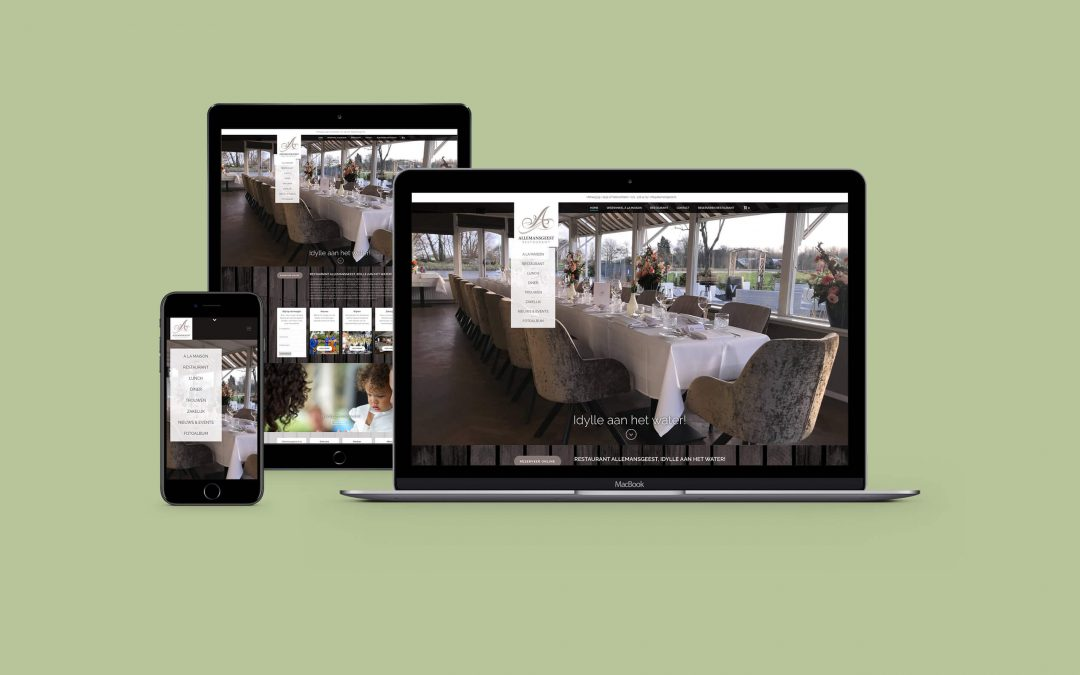 Website: Restaurant Allemansgeest